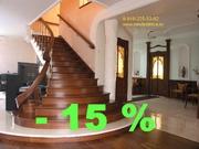 Лестницы из дерева для дома,  дачи,  коттеджа. Производство и продажа